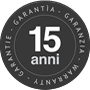 Garanzia 15 anni