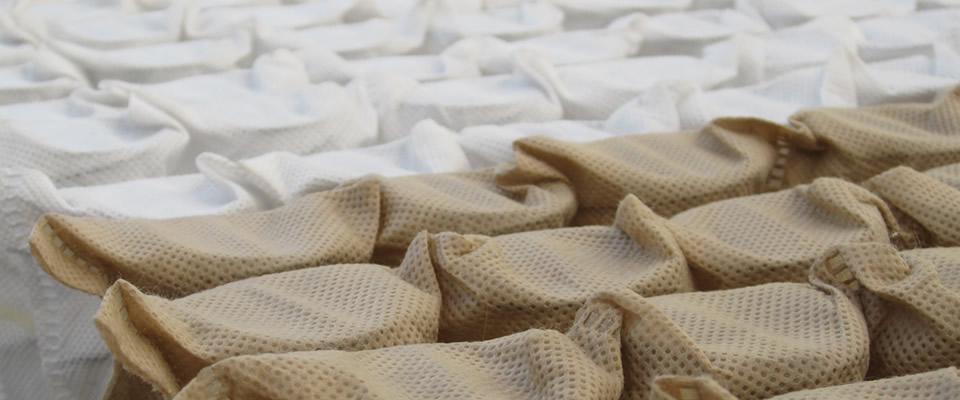 Materasso a molle insacchettate, termosensibile, con Watergel® Perpeflex Materassi Salerno